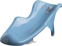 Горка для купания Maltex Мишка / 2060 (темно-голубой) -