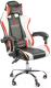 Кресло геймерское Calviano Ultimato (черный/белый/красный) -