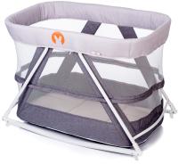 Кровать-манеж Babyhit Rocking Crib (светло-серый) -