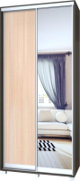 Шкаф Modern Роланд Р60 + Р20 (венге/дуб млечный) -