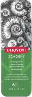 Набор простых карандашей Derwent Academy Sketching Tin / 2301945 (6шт) -
