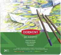 Набор акварельных карандашей Derwent Academy Watercolour 2301942 (24шт) -