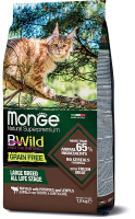 Корм для кошек Monge Cat Grain Free Large Buffalo / Potatoes (1.5кг) -