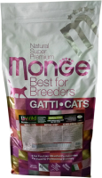 Корм для кошек Monge Cat Grain Free Large Buffalo / Potatoes (10кг) -