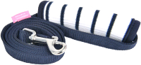 Поводок Pinkaholic Cordelia / NAUA-AL7601-OW-M (синий с белой ручкой) -