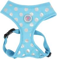 Шлея-жилетка для животных Pinkaholic Chic / NARA-HA7322-BL-S (голубой) -