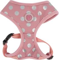 Шлея-жилетка для животных Pinkaholic Chic / NARA-HA7322-PK-M (розовый) -