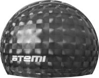 Шапочка для плавания Atemi 3D / PU200 (черный) -