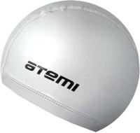 Шапочка для плавания Atemi PU12 (серебристый) -