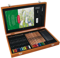 Набор для рисования Derwent Academy Wooden Gift Box / 2300147 -