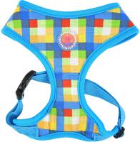 Шлея-жилетка для животных Pinkaholic Vivica / NATA-HA7553-BL-M (голубой) -