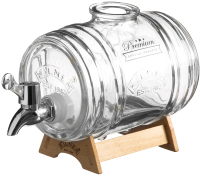 Диспенсер для напитков Kilner Barrel K-0025.793V -