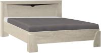 Двуспальная кровать Олмеко Лючия 33.08-02 (бетон пайн белый) -