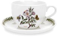 Чашка с блюдцем Portmeirion Botanic Garden Шиповник / BGHY42000S -