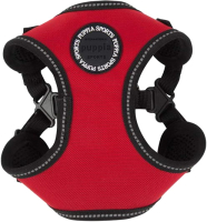 Шлея-жилетка для животных Puppia Trek / PLRA-HC9323-RD-L (красный) -