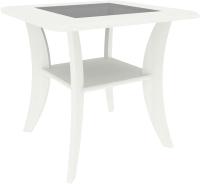 Журнальный столик Кортекс-мебель Лотос-3 (ясень белый) -