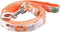 Поводок Puppia Rowan / PASA-AL1604-OR-M (оранжевый) -