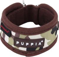 Ошейник Puppia Legend / PAPA-NC1310-BC-S (коричневый камуфляж) -