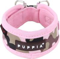 Ошейник Puppia Legend / PAPA-NC1310-PC-M (розовый камуфляж) -