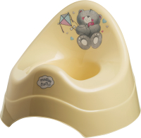 Детский горшок Maltex Мишка / 2077 (бежевый) -
