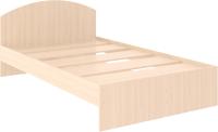 Полуторная кровать Rinner Веста 140x200 (дуб млечный) -