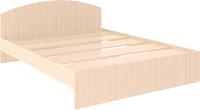 Двуспальная кровать Rinner Веста 160x200 (дуб млечный) -