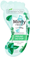 Скраб для ног Bielenda Minty Fresh Foot Care освежающий разглаживающий (10г) -