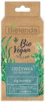 Лак для укрепления ногтей Bielenda Bio Vegan Nail Care кондиц. регенерир. с морскими водорослями (10мл) -