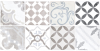 Декоративная плитка Нефрит-Керамика Алькора / 00-00-5-08-30-06-1483 (400x200, серый) -