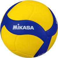 Мяч волейбольный Mikasa V430W (размер 4, желтый/синий) -