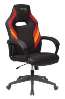 Кресло геймерское Бюрократ Viking-3 (искусственная кожа черный/красный) -