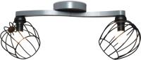 Потолочный светильник N&B Light Плеяда 40133 (серый матовый) -