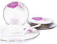 Набор столовой посуды Добруш Mon Amour / 9С1028Ф34 (8пр) -