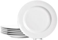 Набор тарелок Добруш Идиллия Белье / 9С2680Ф34 (6пр) -