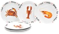 Набор тарелок Добруш Универсал Sealife / 9С2178Ф34 (6пр) -