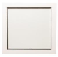 Окно ПВХ Добрае акенца Глухое 3 стекла (700x700) -