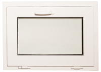Окно ПВХ Добрае акенца Откидное 3 стекла (600x800) -