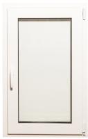 Окно ПВХ Добрае акенца Поворотно-откидное 3 стекла (1000x600) -