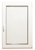 Окно ПВХ Добрае акенца Поворотно-откидное 3 стекла (1000x800) -