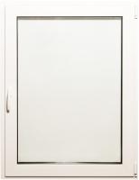 Окно ПВХ Добрае акенца Поворотно-откидное 3 стекла (1100x900) -