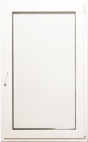Окно ПВХ Добрае акенца Поворотно-откидное 3 стекла (1300x800) -