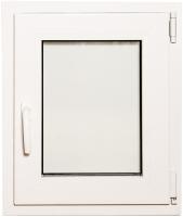 Окно ПВХ Добрае акенца Поворотно-откидное 3 стекла (600x500) -