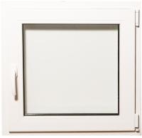 Окно ПВХ Добрае акенца Поворотно-откидное 3 стекла (700x700) -