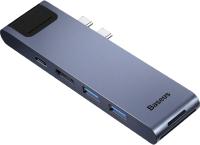 Док-станция для ноутбука Baseus Thunderbolt 7в1 / CAHUB-L0G -