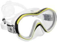 Маска для плавания Aqua Lung Sport Reveal X1 0121110/MS192121 (черный/белый/лайм) -