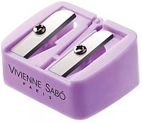 Точилка для косметических карандашей Vivienne Sabo Двухсторонняя -