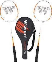 Набор для бадминтона WISH Alumtec 780 (оранжевый) -