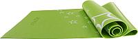 Коврик для йоги и фитнеса Starfit FM-102 (173x61x0.5см, зеленый) -