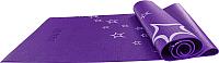 Коврик для йоги и фитнеса Starfit FM-102 (173x61x0.5см, фиолетовый) -