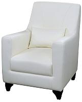 Кресло мягкое Савлуков-Мебель Канзас Fusion (белый) -